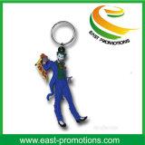 Kundenspezifisches weiches Kurbelgehäuse-Belüftung Keychain mit Schlüsselring