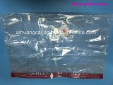 Bolso impreso color transparente plástico del alimento del bolso de vacío del paño