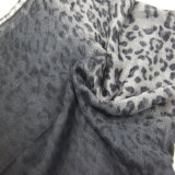 Серый шарф для женщин, шарф леопарда девушки, шаль украшения вспомогательного оборудования способа
