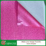 Preço da fábrica de Qingyi o baixo e a grande qualidade do Glitter do vinil da transferência térmica da beleza para desgastam