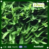 サッカーのスポーツの人工的な草の自然な見る泥炭