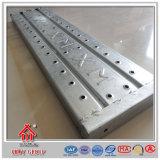 Grande prancha galvanizada do aço do andaime do metal de Capcifty Prefab