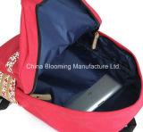 소녀 옥외 운동 여행 부대 간단한 학교 컴퓨터 책가방