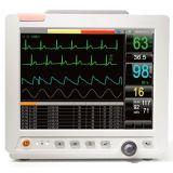 Ce do monitor paciente de um multiparâmetro de 12.1 polegadas aprovado (FORLONG-8000)
