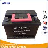 56220 de lage Batterijen van de Auto van het Onderhoud DIN 62ah voor Doorwaadbare plaats