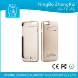 для iPhone6 подоприте батарею ультра тонкую, передвижной зажим зажима задней части кожуха электропитания поручая 4.7/5.5inch