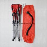 Silla plegable reforzada del Bbq del montañés con los guantes del respaldo y del pie