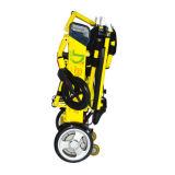 Poids léger en aluminium pliant le fauteuil roulant électrique avec la batterie au lithium