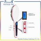 Redresseur de balai de cheveu de conformité et d'écran LCD de RoHS de la CE