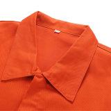 [أم] برتقاليّ أمان طيارة ميدعة, قوّيّة بوليستر [كتّون فبريك] خطّ طيارة [ووركور] بدلة