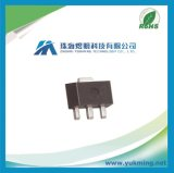Régulateur normal IC L79L05acutr de circuit intégré