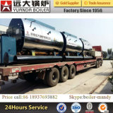 0.5-10ton/H gas naturale, GPL, LNG, CNG, diesel, caldaia a vapore a petrolio pesante