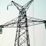 110kv de Toren van de Buis van het staal met de Deklaag van het Zink