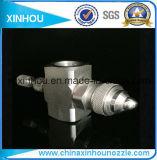 Gicleur de pulvérisation de ventilateur de siphon d'air plat de jet
