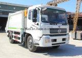 camion d'ordures de compactage de 4X2 Tianlan 10mt 12mt