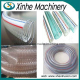 20-50mm 관 강철에 의하여 강화되는 호스 생산 라인 PVC 관 밀어남 선 또는 플라스틱 압출기