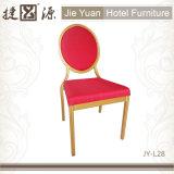 Обитый стул банкета круглой задней части алюминиевый (JY-L28)