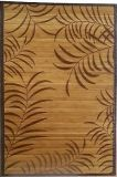 Tapis en bambou teint à la main avec beau motif