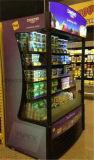 高品質のスーパーマーケットのMutiのデッキの表示外気のスリラー