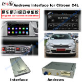 Interface GPS de navigation GPS Android pour Citroen C5 (MRN)