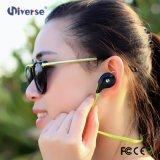 Цветастый наушник Bluetooth спорта в цене Earbuds шлемофона уха беспроволочном стерео дешевом