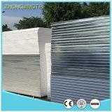 el panel de emparedado del poliuretano de la hoja de acero del color de 970m m para el almacén