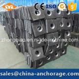 Noix Hex sphérique pour la barre en acier filetée de haute résistance