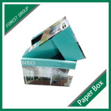 Caja de presentación impresa envío plegable de la cartulina