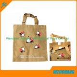 Mehrfachverwendbare und faltbare lamellierte zurückführbare pp. nicht gesponnene Einkaufstasche des Tote-