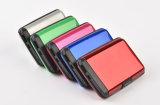 Carpeta de la tarjeta de crédito de la función de la batería de la potencia