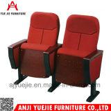 테이블 Yj1002b를 가진 휴대용 강당 의자 영화관 의자