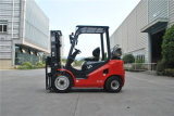 Tonelada LPG do Un 2.0 da nova série e Forklift do combustível do dobro do Forklift da gasolina com motor do GM