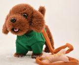 Perro de juguete suave de la felpa