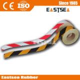 Желтый / черный или оранжевый / белый PE Внимание нашивки лента