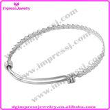Form-Schmucksache-Edelstahl-Armband-expandierbares Draht-Armband für Frauen