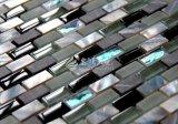Frischwassershell-und des Marmor- und Kristallglas-10*30 Mosaik