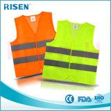 Maglia riflettente di sicurezza della carreggiata dell'alta maglia di visibilità per i bambini
