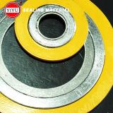 304 외부 반지, Ss304 안 반지, Ss304 용접, 흑연 충전물, 증명서 ISO9001를 가진 나선형 부상 틈막이: 2008년