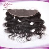 Frontal brasileiro do fechamento do laço da venda por atacado do cabelo do vendedor dos produtos de cabelo