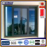 Fenêtre coulissante en verre double en aluminium avec certificat australien
