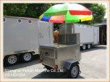 Carro móvil del vendedor de la cocina de la alta calidad de Ys-HD120A para la pequeña empresa