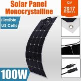 100W適用範囲が広い太陽電池パネルの日曜日力のモノラル太陽充満