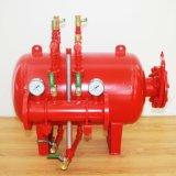 Tanque da escada de incêndio, tanque horizontal da espuma, tanque vertical da espuma