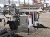 La remorque Drilling de la plate-forme de forage DTH de puits d'eau de Hf120W a monté