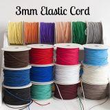 Cuerda elástico colorida de la alta calidad, accesorios de la ropa