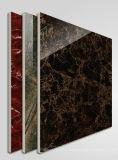 Negro esmaltado pulido luz completa del azulejo de suelo de la porcelana de la carrocería del material de construcción del azulejo de Foshan (BMG12P)