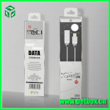 Telefon-Zubehör-Papier/Plastikverpackungs-Kasten mit Einlage-Tellersegment