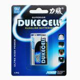 De alkalische kwik-Vrije Batterij van de Droge batterij 6lr61 9V