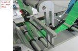 Één Zij Dubbele Machine van de Etikettering van de Sticker van de Fles van Kanten Vlakke Vierkante