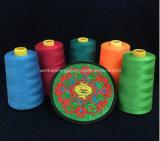 Hilado teñido del PCT Polyeste de los conos 100 del bebé de los colores